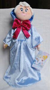 "Disney Fairy Godmother Cinderella 70th Anniversary Plush Doll 18""/ 45 cm - New"