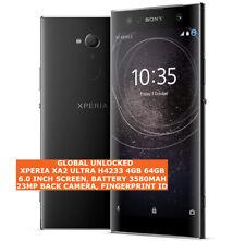 """SONY XPERIA XA2 Ultra H4233 impronte digitali di 4gb 64gb 23mp 6.0"""" Smartphone Android 4g"""