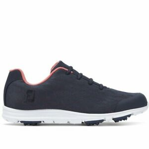 Footjoy Ladies Enjoy Golf Shoes Spikeless lightweight m and w fitting 95714 Navy
