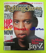 ROLLING STONE USA MAGAZINE 989/2005 Jay-Z Billy Joel John Lennon U2  No cd