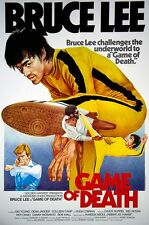 GAME OF DEATH LAMINATED MINI POSTER  A4 KUNG FU PRINT