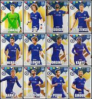 ADRENALYN XL FIFA 365 2020 CHELSEA FULL SET OF 12 TEAM MATE TRADING CARDS
