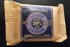 L'Occitane Savon Lavender Vegetable Bar Soap 0.8oz / 25g Travel 20% Shea Butter