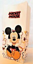 Mickey Mouse Weiß Papier Geschenk Tasche Popcorn Party Beutel Weihnachten Eve