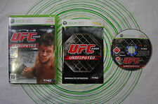 Ufc 2009 undisputed xbox 360 pal