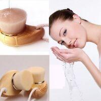 Fiber Soft Care Facial Cleansing Wood Deep Clean Face Brush