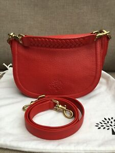 Mulberry Small Effie Satchel Pebbled Leather Excellent Condition.