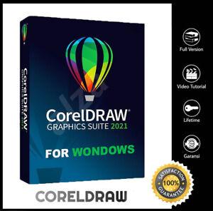 CorelDRAW Graphics Suite 2021✔️🍁Full & Latest Version🍁 Win 💻🍁Fast Delivery🍁