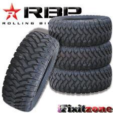 4 Rolling Big Power RBP Repulsor MT LT 35X12.50R20 121Q All Terain Mud Tires