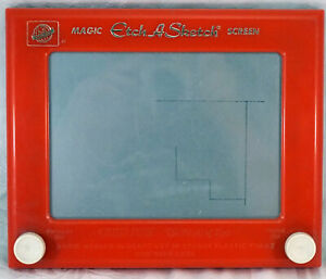 """Vintage Etch A Sketch """"Another Creation by OHIO ART""""No. 505 c1960-1962 Works #1"""