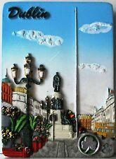 Fridge magnet 7x5cm DUBLIN  IRELAND O'CONNELL STREET Irish souvenir 3D