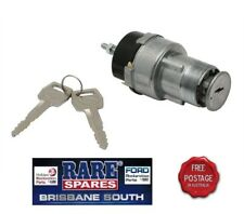 FORD FALCON FAIRLANE IGNITION SWITCH BARREL & KEYS SUITS XR XT XW XY TO 01/72