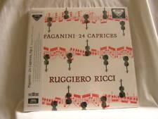 PAGANINI 24 Caprices RUGGIERO RICCI 180 gram vinyl stereo SEALED 2 LP