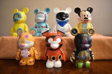 "Disney Vinylmation 3"" Park Series 4 - Lot of 7 Figures/Vinyls"