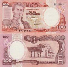 Colombia 100 Pesos (1.1.1990) - General/Villa/Letterpress/426e UNC