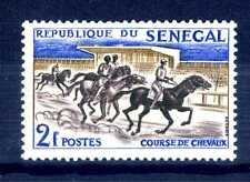 SENEGAL - 1961 - Francobolli: Sport. Corsa di cavalli. E2230