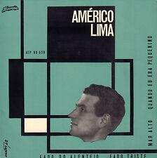 "AMERICO LIMA - Fado Do Alentejo (SIGNED VINYL EP 7"" PORTUGAL)"