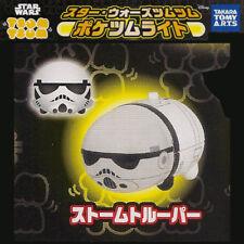 Takara Tomy Disney Star Wars TSUM TSUM Pocket Light Gashapon - Stormtrooper