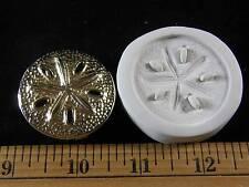 Sand Dollar (Lg) Polymer Clay Mold (#MD1276)