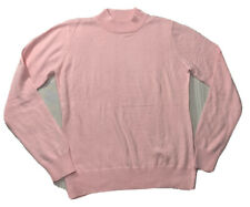Knit Sweater Size L Pink