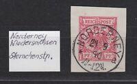 """DR - Stempel K1 """"NORDERNEY 21 / 9 / 90  11-12 V."""" (Niedersachsen), bitte ansehen"""