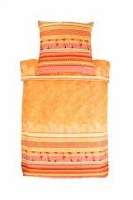 Mediterrane Bettwäschegarnituren aus Baumwollsatin mit Paisleymuster