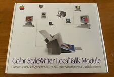 New Sealed Apple Color StyleWriter LocalTalk Module M4615ZM/A 2400 2500 Printer