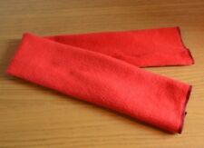 BRAND NEW * FLEECE FABRIC GIRTH SLEEVE COVER * RED * ONE SIZE