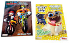 Mickey Mouse  Friends Puppy Dog Pals Disney Jr Coloring Book Activity Books Set