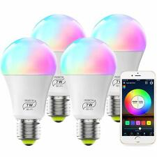 MagicLight Smart Light Bulb, Color Changing, E26 7W (60w Equivalent) - 4 PACK