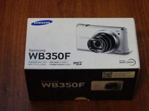 NEW in Open Box - Samsung WB350F 16.3 MP Smart Camera - WHITE - 887276960258