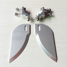 2Pcs CNC Aluminum alloy turn fins 55mm x 21mm for small electric rc boat 209
