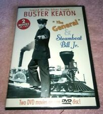 Buster Keaton The General Steamboat Bill Jr. Dvd Silent Double Feature
