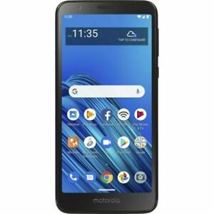 Motorola Moto E6 - 16GB - Starry Black (Consumer Cellular)