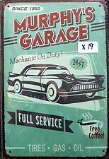 Murphy's Garage Metal Tin Signs Bar Shed & Man Cave Signs AU Seller