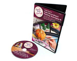 Model Craft Techniques De Décoration Finition Gâteaux DVD Vol. 2 CD3103 Design