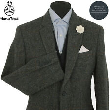 Harris Tweed Jacket Blazer 40R Herringbone Windowpane Country Check Hacking