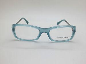 NEW GIORGIO ARMANI AR 7011 5034 Blue/Gunmetal 51mm Eyeglasses w/ Case