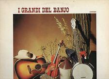 I GRANDI DEL BANJO disco LP JOE MAPHIS JIM HELMS BILLY FAIER MIKE SEEGER 1976