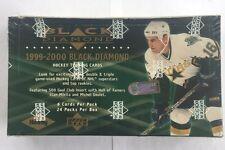 1999-00 Upper Deck Black Diamond Factory Sealed NHL Hockey Box