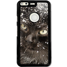 Google Pixel XL Case Phone Cover Cat Snow Y00508