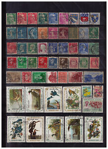 Worldwide lot Haiti France Norway Birds Europe Norge classic vintage &more #336