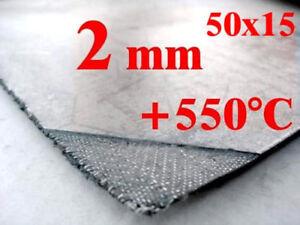 GRAPHITDICHTUNG Auspuffdichtung Krümmerdichtung 50x15cm, Stärke 2mm