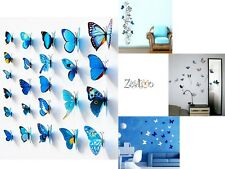 Stickers Papillons Décoration murale Butterfly Wall decor Schmetterling Wanddeko