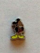 ** Mickey Mouse ** Floating Charm For Living Memory Lockets! Disney Lover / Fan