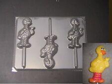 Big Bird Sesame Street Lollipop Chocolate Candy Soap Crayon Mold