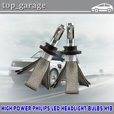 100W 14000LM ZES LED Headlight Kit Hi-Lo Beam 6000K For FORD F 150 04-14