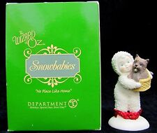 """Dept 56 Snowbabies The Wizard of Oz """"No Place Like Home"""" Dorothy Toto Figurine"""