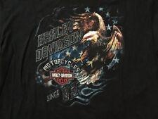 Harley Davidson Stars N Stripes Eagle Shirt NWT Men's XXL