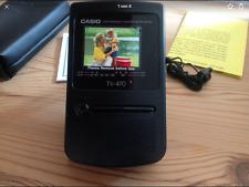 Casio TV 470 LCD Color Television Neu in Originalverpackung